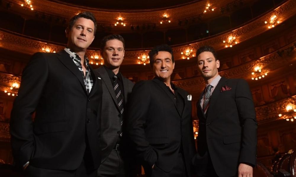 Il Divo volta ao Brasil em 2019 para shows em seis capitais