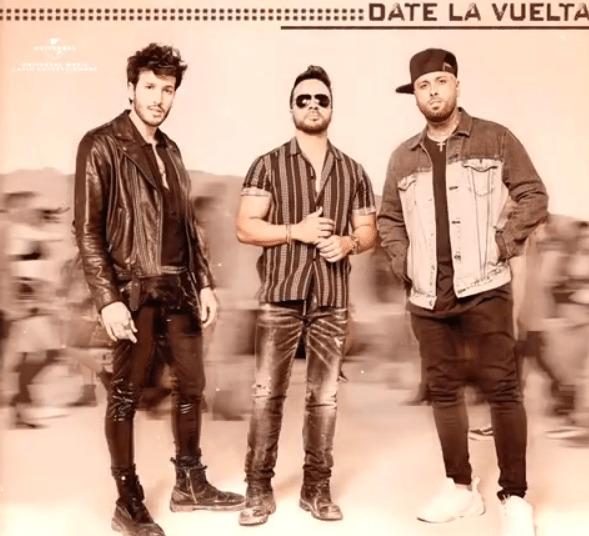 Date La Vuelta é a parceria de Luis Fonsi, Nicky Jam e Sebastián Yatra