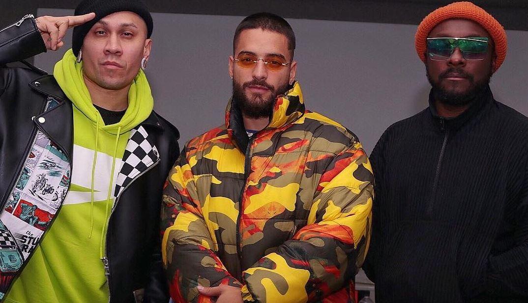 Maluma gravou com Black Eyed Peas