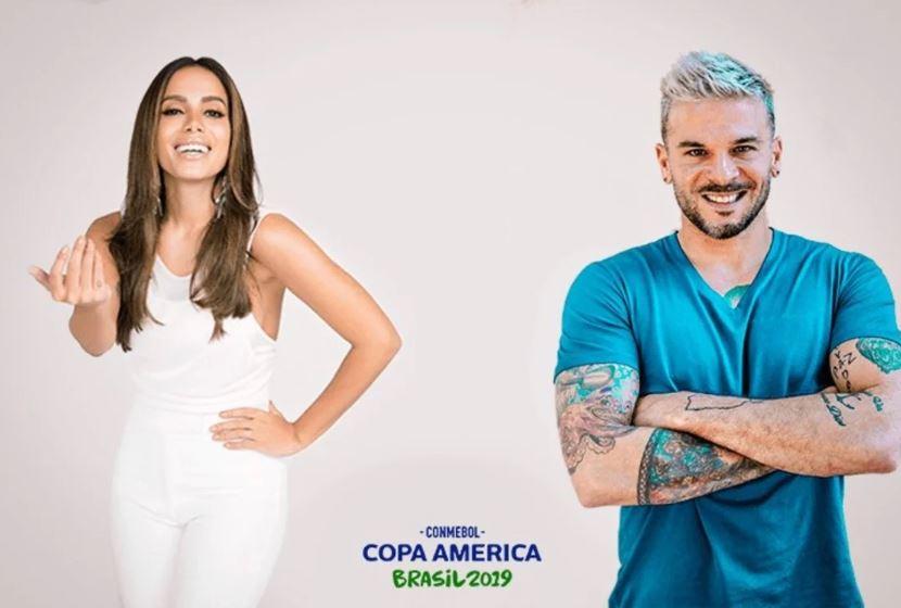 Anitta e Pedro Capó cantarão na final da Copa América