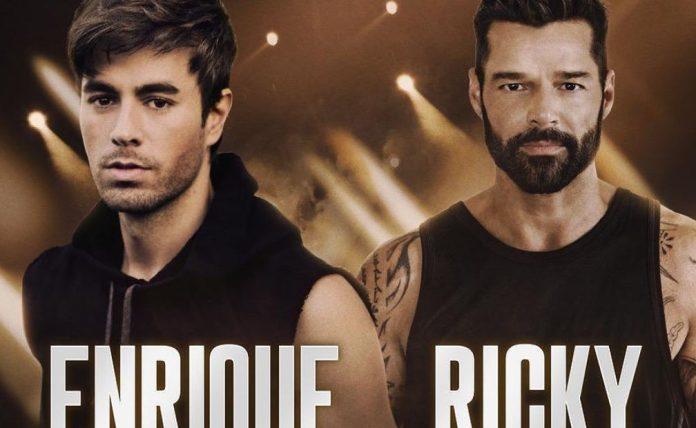 Ricky Martin e Enrique Iglesias em tour conjunta
