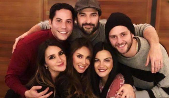 RBD se reuniu na casa de Alfonso Herrera em 2019 para encontro casual
