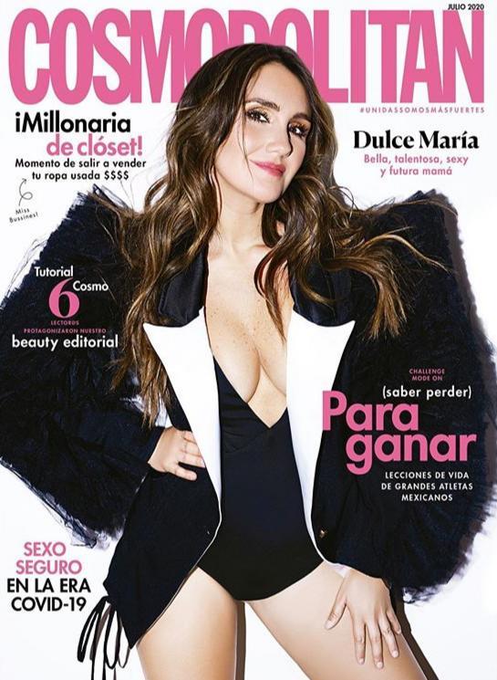 Dulce María fala sobre a gravidez à Cosmopolitan México