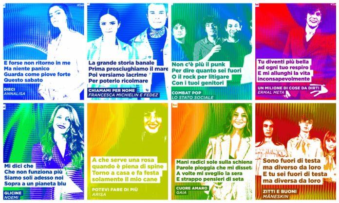 Veja os participantes do Festival de Sanremo