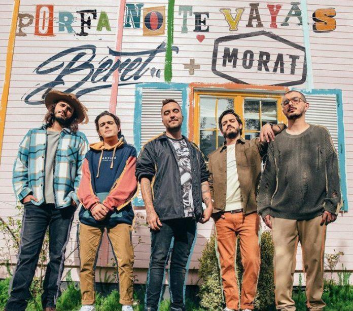Porfa No Te Vayas é a parceria de Beret e Morat