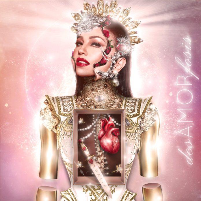 desAMORfosis é o novo álbum da Thalia