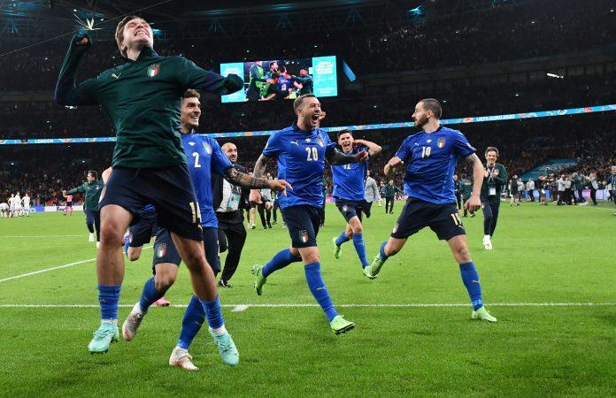 Italianos estão na final da Euro 2020